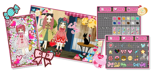 decoss2 Create one of a kind stylish dolls in Doll Fashion Atelier on Nintendo 3DS