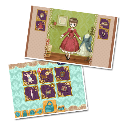 ss01 Create one of a kind stylish dolls in Doll Fashion Atelier on Nintendo 3DS